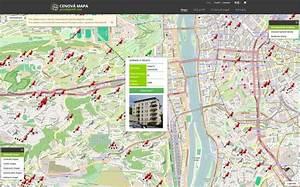 Cenová mapa bytů