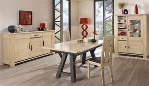 Salle A Manger Chene Blanchi : alby style mobilier tendance cr ations albi ~ Teatrodelosmanantiales.com Idées de Décoration