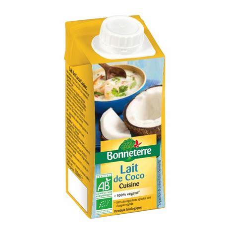 lait de coco cuisine 200ml bonneterre acheter sur