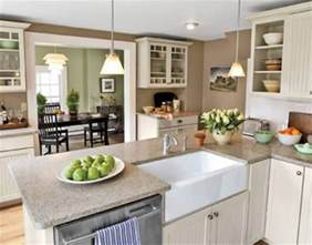 kitchen decorating ideas colors open kitchen dining room color ideas house decor picture