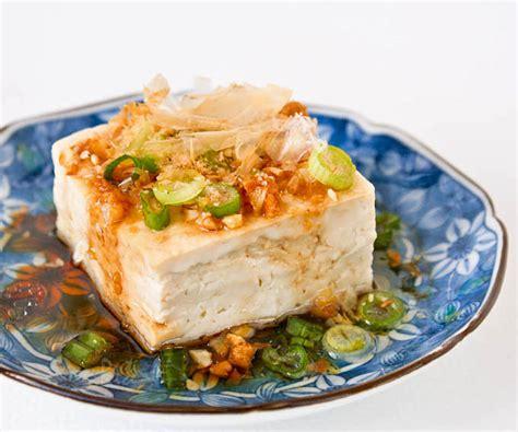 steamed tofu with garlic soy dressing roti n rice