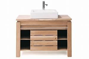Meuble Salle De Bain A Poser : meuble salle de bain avec vasque a poser digpres ~ Teatrodelosmanantiales.com Idées de Décoration