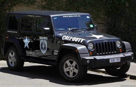 call of duty jeep white jeep wrangler call of duty black ops photos 1 of 3