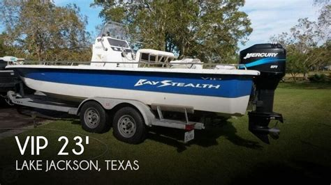 Lake Jackson Boats For Sale by Sold Vip 2380 Bay Stealth Boat In Lake Jackson Tx 116482