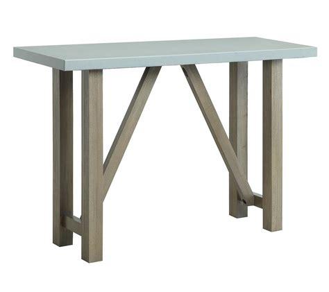 Coaster 704249 Sofa Table Driftwood 704249 At Homelementcom