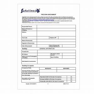 pat testing record sheet template - fire risk assessment form download now