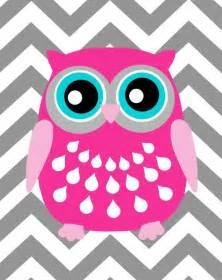 Chevron Owl Clip Art Free