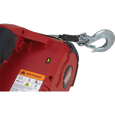 warn pullzall 120 volt handheld electric pulling tool winch 1000 lb capacity 885000