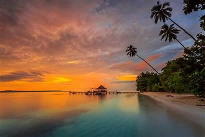 Beach Ora Seram Beaches Maluku Pulau Indonesia