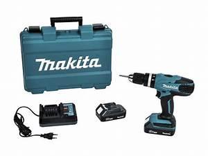 Makita Akkuschrauber Getriebe Reparieren : makita akku schlagbohrmaschine hp457dwe 18 v li ionen 1 3 ah leerlaufdrehzahl 0 u min 1 ~ Eleganceandgraceweddings.com Haus und Dekorationen