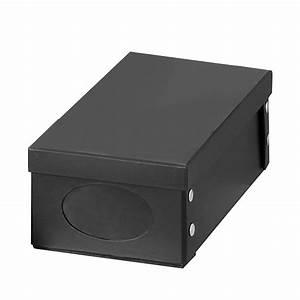 Box Mit Deckel Pappe : schuhkarton deckel schwarz schuhbox schuhe aufbewahrung karton box kiste neu ebay ~ Markanthonyermac.com Haus und Dekorationen