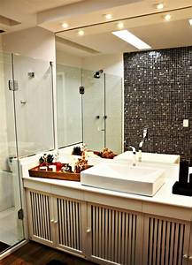Decken Für Badezimmer : 1001 ideen f r badbeleuchtung decke effektvolle und ~ Sanjose-hotels-ca.com Haus und Dekorationen