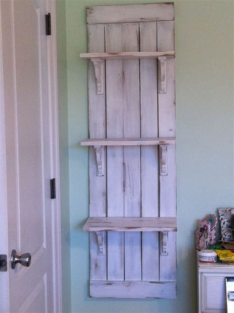 diy farmhouse wall shelf inspiration   ana white