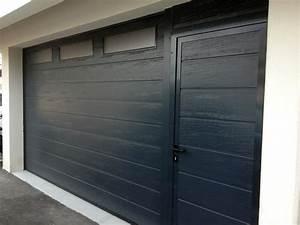 Porte Garage Sectionnelle Avec Portillon : portes de garage fermelec ~ Melissatoandfro.com Idées de Décoration