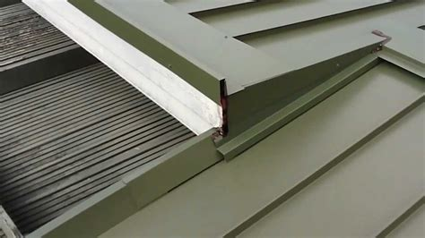 installation  standing seam metal roofing system youtube