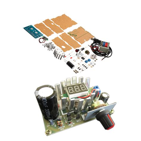 Diy Adjustable Regulated Power Supply Module Kit