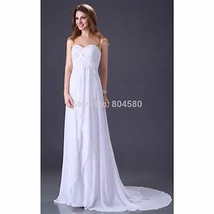 draped white chiffon wedding dress vintage inspired bridal With white chiffon wedding dress