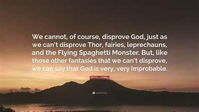 Spaghetti Flying Monster Dawkins Disprove Cannot Richard