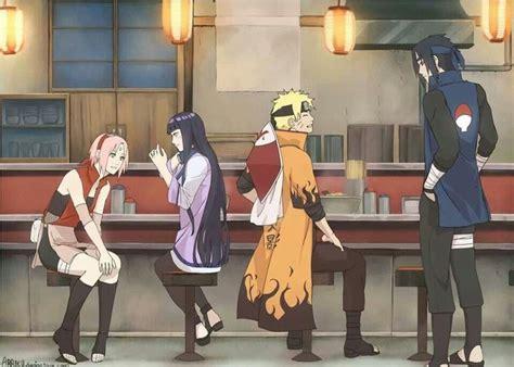 Sakura Hinata Naruto Sasuke Some Day In The Future