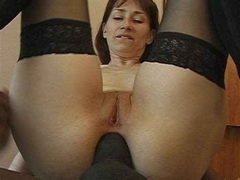 Sexy Milf Takes A Big Black Cock Up Her Ass Clip Free