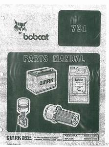 Bobcat 731 Dsl Parts Manual