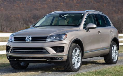 2015 Volkswagen Touareg  Overview Cargurus