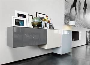 Sideboard Hängend Modern : modulare regale und sideboards die m bel aus boxen zusammenstellen ~ Frokenaadalensverden.com Haus und Dekorationen