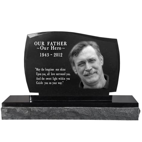 wholesale photo laser engraved granite headstone legacy