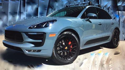 Graffiti Macan : Graphite Blue Metallic Macan Gts Porsche