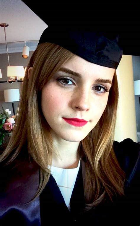emma watson graduates  brown universitysee  star