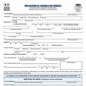 Document Cession Vehicule : certificat de cession voiture pdf ~ Gottalentnigeria.com Avis de Voitures