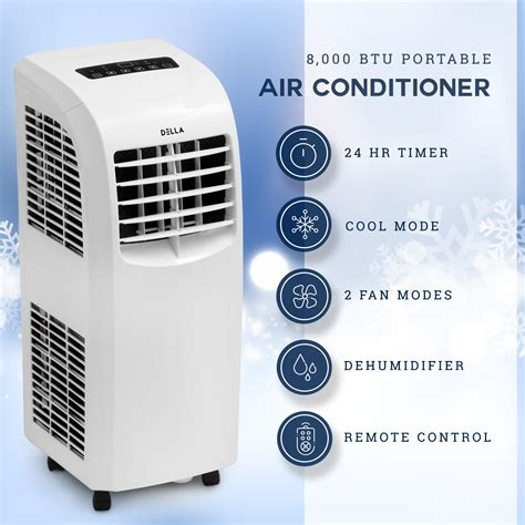 btu portable air conditioner cooling ac cool fan