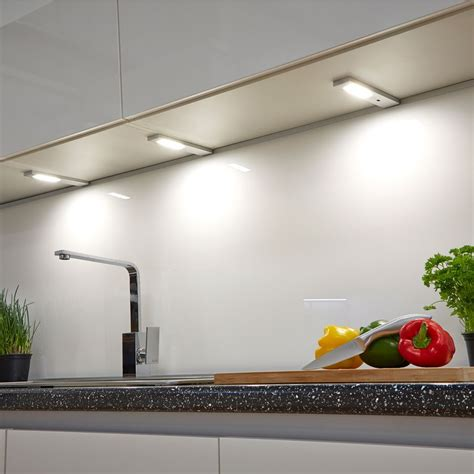 led lights for kitchen quadra modern led cabinet light with sensor 6932