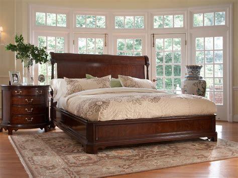american cherry charleston platform bedroom collection