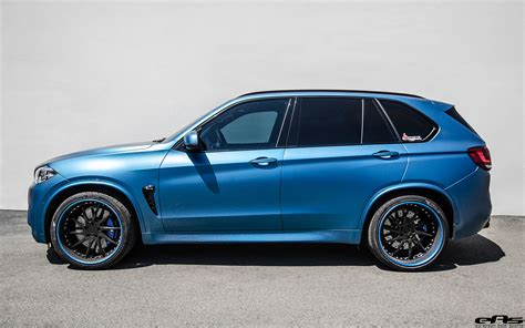 This Matte Blue Bmw X5 M Goes To The Tuning Shop