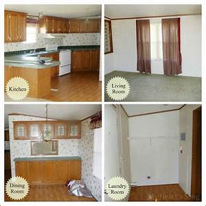 My Heart's Song: Our Mobile Home Before & After