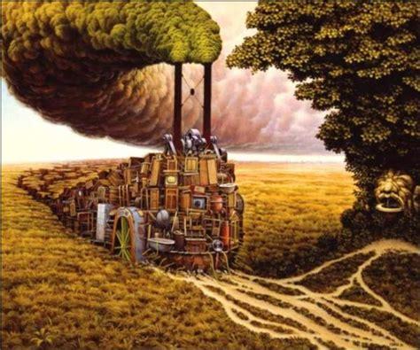 paintings painting yerka jacek dream perfect