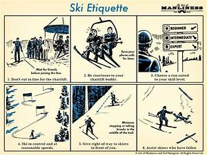 Ski Etiquette For The Lifts And The Slopes