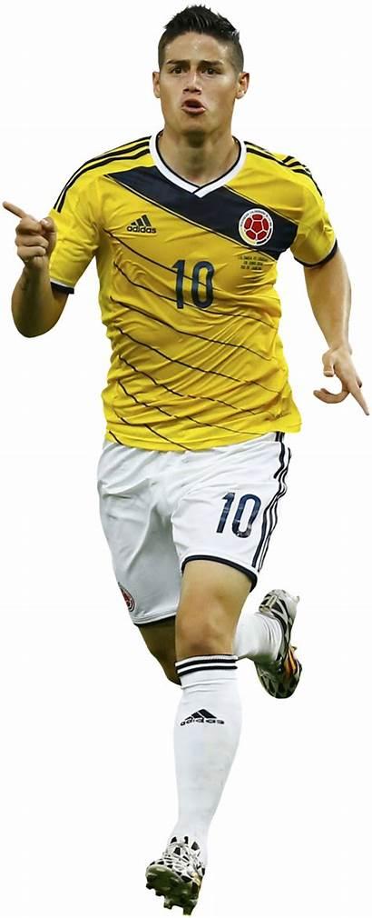 James Rodriguez Render Colombia Football Footyrenders Renders