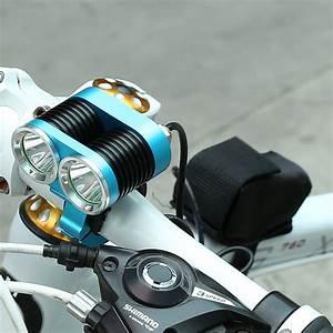 Fahrradlampe Mit Akku : 1 7 cree t6 leds fahrradlampe fahrradbeleuchtung ~ Jslefanu.com Haus und Dekorationen