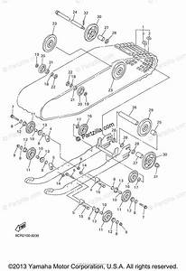 Yamaha Snowmobile 2001 Oem Parts Diagram For Track