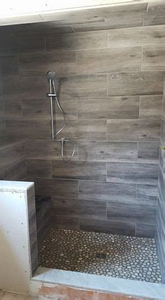 stone tile walk  shower design kenwood kitchens