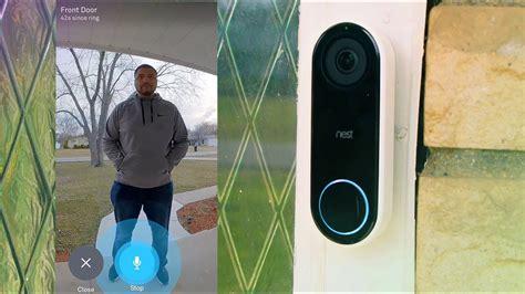 nest  video doorbell  days  real world usage
