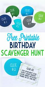 Birthday Scavenger Hunt Date Ideas Scavenger Hunt