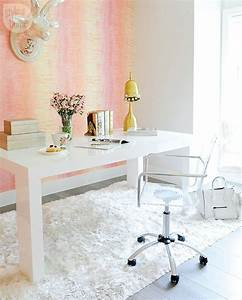 A, Girly, Glam, Home, Office, With, The, Perfect, Mix, Of, Functional, And, Decorative, Decor
