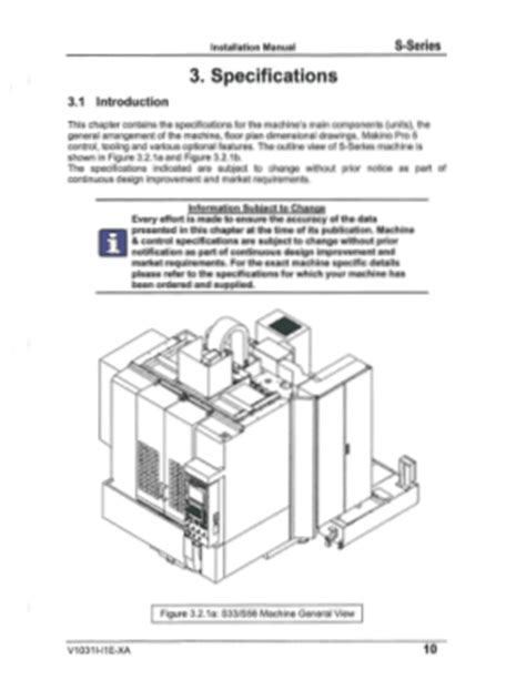 Makino Manuals User Guides - CNC Manual