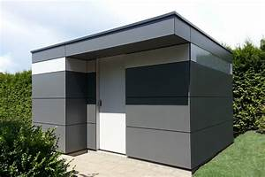 Gartenhaus Kubus Modern : charakteristisch f r dieses moderne holz gartenhaus ist das umlaufende fensterband die ~ Sanjose-hotels-ca.com Haus und Dekorationen
