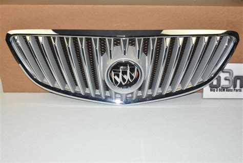 buick lacrosse allure front outer chrome grille