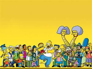 The Simpsons Full HD Wallpaper and Achtergrond