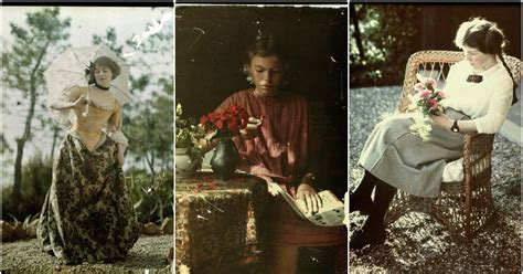 in early color photography 41 stunning pictures of